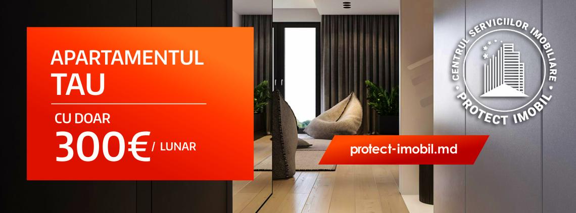 Alege apartamentul Tau si achita in rate de la 300€ lunar!
